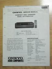 Original Onkyo Service Manual for the DX-200 CD Player~Repair