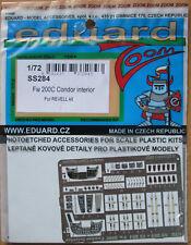 Eduard 1/72 Couleur SS284 Zoom Etch pour le REVELL FOCKE WULF Fw200C Condor Kit