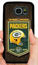 GREEN BAY PACKERS PHONE CASE FOR SAMSUNG GALAXY & NOTE S5 S6 S7 EDGE S8 S9 S10 E