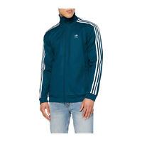 Adidas Uomo Felpa Tuta Completa pantalone Franz Beckenbauer Blue elettrico