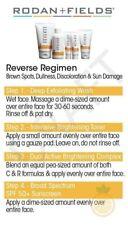 Rodan + and Fields Reverse Regimen Brightening Full Size Kit Exp 1/21 Brand New