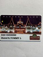 Sheraton Casino Slot Card Vintage Puerto Rico