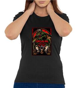 Gremlins Oldschool Movie Artwork Quality Women's T Shirt