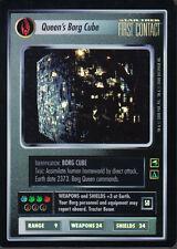 STAR TREK CCG REFLECTIONS SUPER RARE QUEENS BORG CUBE