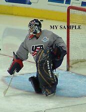 Ty Conklin Edmonton Oilers NHL 2004 World Cup Team USA Goalie Mask Photo