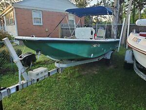 1996 Homemade 17' Fishing Boat & Trailer - North Carolina