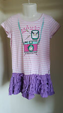 Mambo Licensed Cotton Pink Dress with Camera Graphic - Photography BNWT - 1 to 7