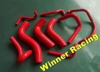 Silicone Radiator Heater Hose Mazda Miata/MX-5/Eunos Roadster NA B6ZE 1.6L Red