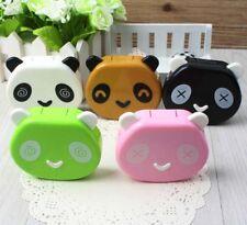 Contact Lenses Case Panda Cartoon Random Color Container 1 Pcs Travel Cute
