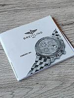 BREITLING CHRONO 1461 BOOKLET reprint  / Beschreibung in gutem Zustand reprint