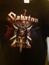 Sabaton Tour T-Shirt 2008 Kids Medium used