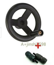 Bridgeport Milling Machine Feed Plastic Hand Wheel 2pcs Reverse Knob Mill Tool