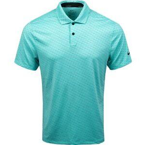 New Nike Golf Vapor Stripe Dri Fit Stretch Tropical Twist Polo Shirt sz XXL