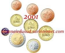 Série 1 Cent à 2 Euro Monaco 2001 - Série UNC
