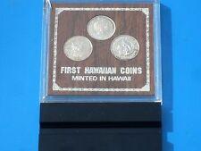 Royal Hawaiian Mint's Three Coin Original Silver Set W/Box