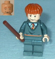HARRY POTTER #60A Lego Ron Weasley Gryffindor Stripe Sleeping/Awake 4762 1 issue