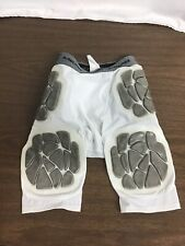 Rawlings Compression Padded Football Girdle Shorts with 5 Pads Youth Large