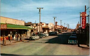 Postcard Allen Street, The Main Drag of Tombstone, Arizona~4136