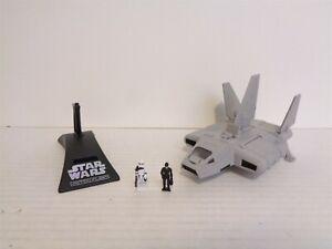 1997 Galoob Star Wars Action Fleet Imperial Landing Craft Vehicle Set Complete