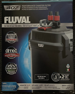 Fluval 407 Perfomance Canister Filter NEW