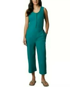 Columbia Sportswear Firwood Crossing Jumper Nylon Romper Teal Women's Medium