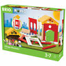 BRIO World 33942 Village Modules Home Expansion Pack for Wooden Train Set