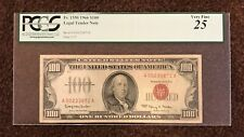 FR. 1550 1966 $100 LEGAL TENDER NOTE PCGS 25