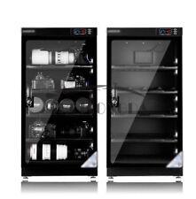 110-240V 100L Touch Screen Digital Dehumidify Dry Cabinet Box & Camera Lens