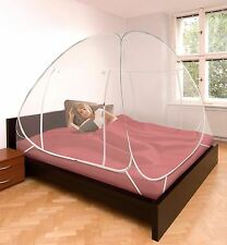 Mosquito Net King Size Bed Bug Insect Repeller Box Shape Camping Outdoor Netting
