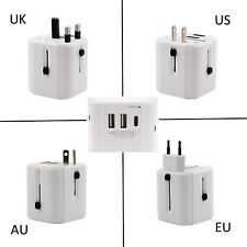 New 4 Port USB Travel Charger Mains Wall AC Multi Power Battery Adapter UK Plug