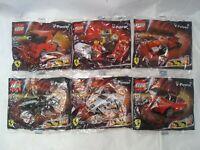 LEGO SHELL V POWER - OFFICIAL FERRARI FORMULA 1. Lot of 6 sets. New Sealed