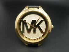 New Old Stock MICHEAL KORS Slim Runway MK2392 Leather Strap Quartz Women Watch
