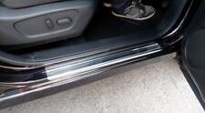 Stainless Steel Kick Plate Door Sill Protectors for Nissan Qashqai Mk2 5 Seater