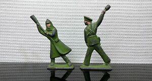 Vintage Toy Revolution Soldiers Factory Progress 70s Pewter USSR Soviet UK