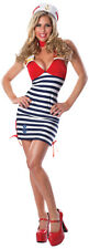 Delicious Sexywear Retro Pin-Up Sassy Sailor Sexy Costume Adult 6-10 M/L #5423