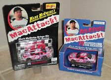 2 MARK McGWIRE Homerun Record #8 Bobby Hillin Jr. Race Cars 1/64 Maisto 1998