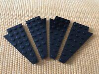 4 x 8 Panel 2 Stück Flügel Lego--3933//3934 Schwarz