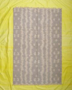 Turkish Mat Hand woven 5'x8' ft Flat Weave Reversible Dhurrie Kilim Multi Color