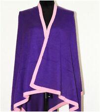 Cashmere Poncho Cape Women Blanket jumper Jacket Oversize Cardigan Handmade Warm