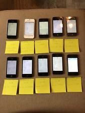 Lote de 10 portadores iPhone 4s 16/8 GB Mezclados ** ** ver descripción