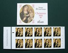 Sc # BK232 ~ Booklet ~ 32 cent Madonna and Child, by Giotto di Bondone