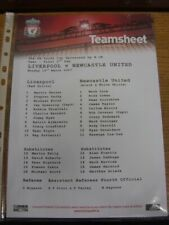 19/03/2007 FA Youth Cup Semi-Final: Liverpool Youth v Newcastle United Youth  (C