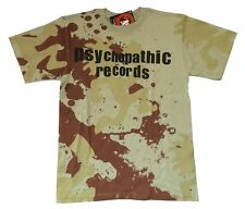Insane Clown Posse Army Camo Psychopathic Records Green T Shirt New Official ICP