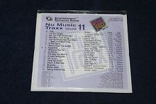 ERG Nu Music Traxx Vol. 11 OUT OF PRINT VERY RARE CD Great Condition FREE SHIP!