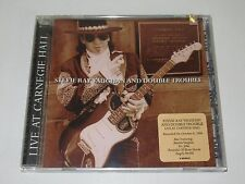 STEVIE RAY VAUGHAN AND DOUBLE TROUBLE/LIVE AT CARNEGIE HALL(EPIC EK 68163)CD NEW
