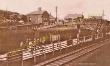 Shildon Railway Station Photo. Bishop Auckland to Heighington and Stockton. (7)