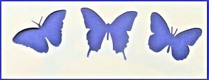 Flexible Stencil *BEAUTIFUL BUTTERFLIES* Card Making - 8cm x 21cm - 190micron