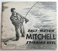 1950's Mitchell Salt Water Spinning Reel Booklet