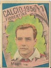 FIGURINA  VAV CALCIO 1950 MAGLI FIORENTINA