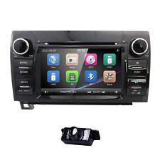 "7"" Double 2Din In Dash For Toyota Tundra Stereo GPS Navi Radio Car DVD Player+CA"